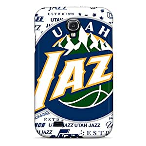 Hot Style VDF3890keEV Protective Case Cover For Galaxys4(utah Jazz)