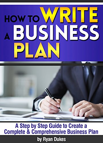 how to create a business plan book