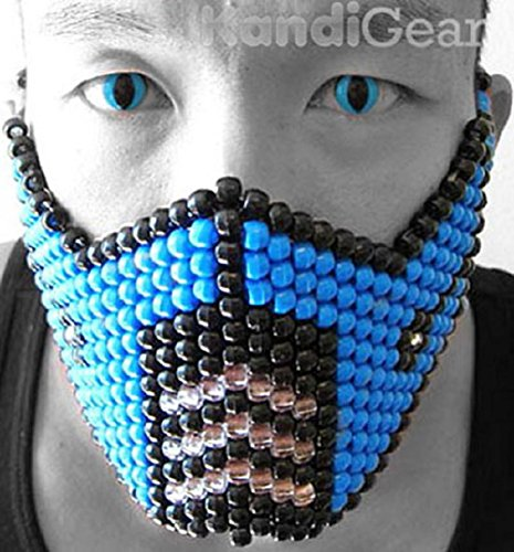 mortal kombat fancy dress sub zero - 9