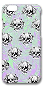 iPhone 6 Case, Custom Design Protective Covers for iPhone 6(4.7 inch) PC 3D Case - Skulls