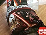 Star Wars The Force Awakens Boys Kids Full Comforter, Sheets & BONUS SHAM J (6 Piece Bed In A Bag) + HOMEMADE WAX MELT
