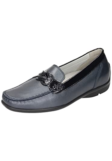 Womens-Slipper Harriet Blau 940737-5