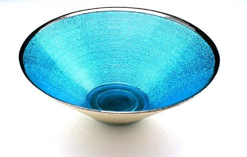Athena Serving Tray - Arda Athena 10-Inch Bowl, Aqua Silver Plated