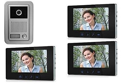 Citofono Esterno Moderno : Video guida utente videocitofono tab s due fili plus