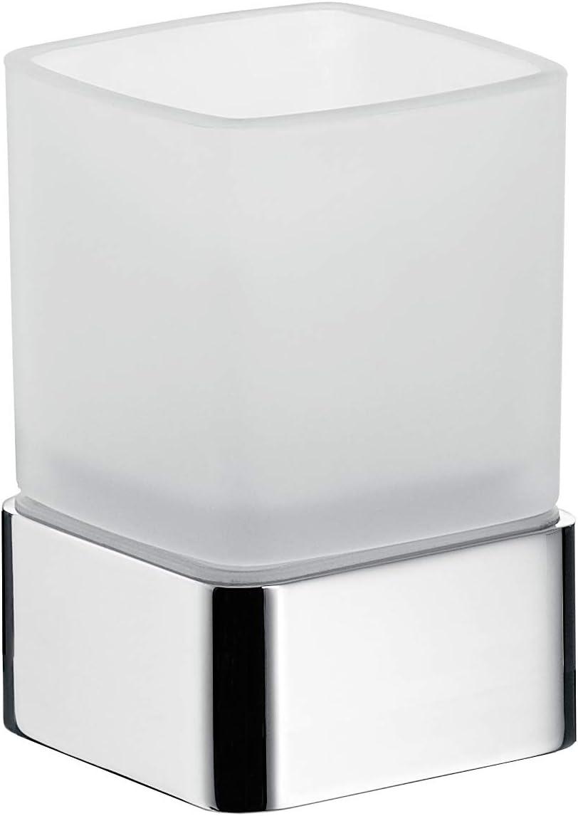 1/pi/èce chrome Emco Loft Support pour verre /à poser en verre cristal satin/é 052000101