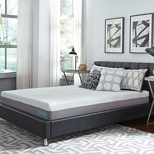 Slumber Solutions 10-inch Gel Memory Foam Choose Your Comfort Mattress Firm Full