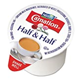 Carnation 21501 Half & Half, 0.304 oz Cups, 180/Carton