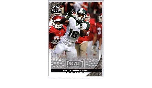 best service 55bd7 21c50 Amazon.com: Football NFL 2016 Leaf Draft #2 Aaron Burbridge ...