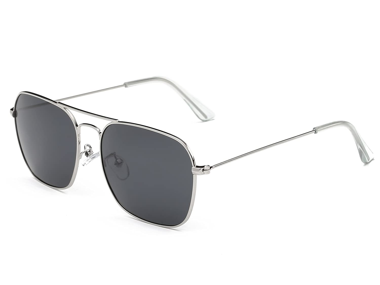 aviator sunglasses on sale  on sale FSK庐 Polarized Square Aviator Sunglasses for Men 56mm ...