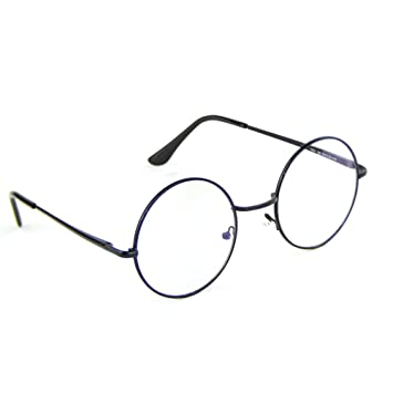 0c4b0157ceca2 Image Unavailable. Image not available for. Color  Cyxus Blue Light  Blocking Glasses with Anti Eyestrain Retro Round Metal Frame Eyewear