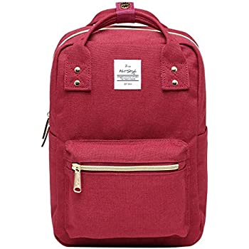 DISA MINI Small Backpack Purse, Fits 10-inch iPad, Marron