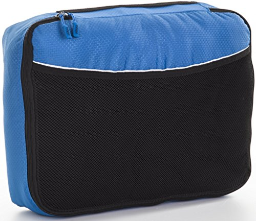Price comparison product image Bago Packing Bags for Travel - Cubic Bags for Luggage -Single Large Bag (Blue Tale)