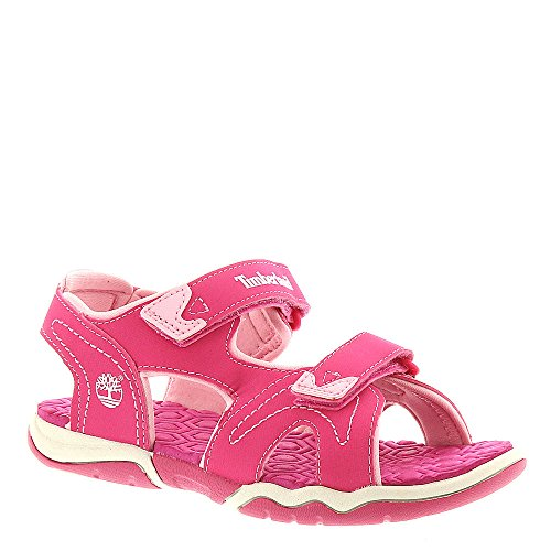 (Timberland Adventure Seeker Two-Strap Sandal, Light Pink, Size 2 M Us Little Kid)