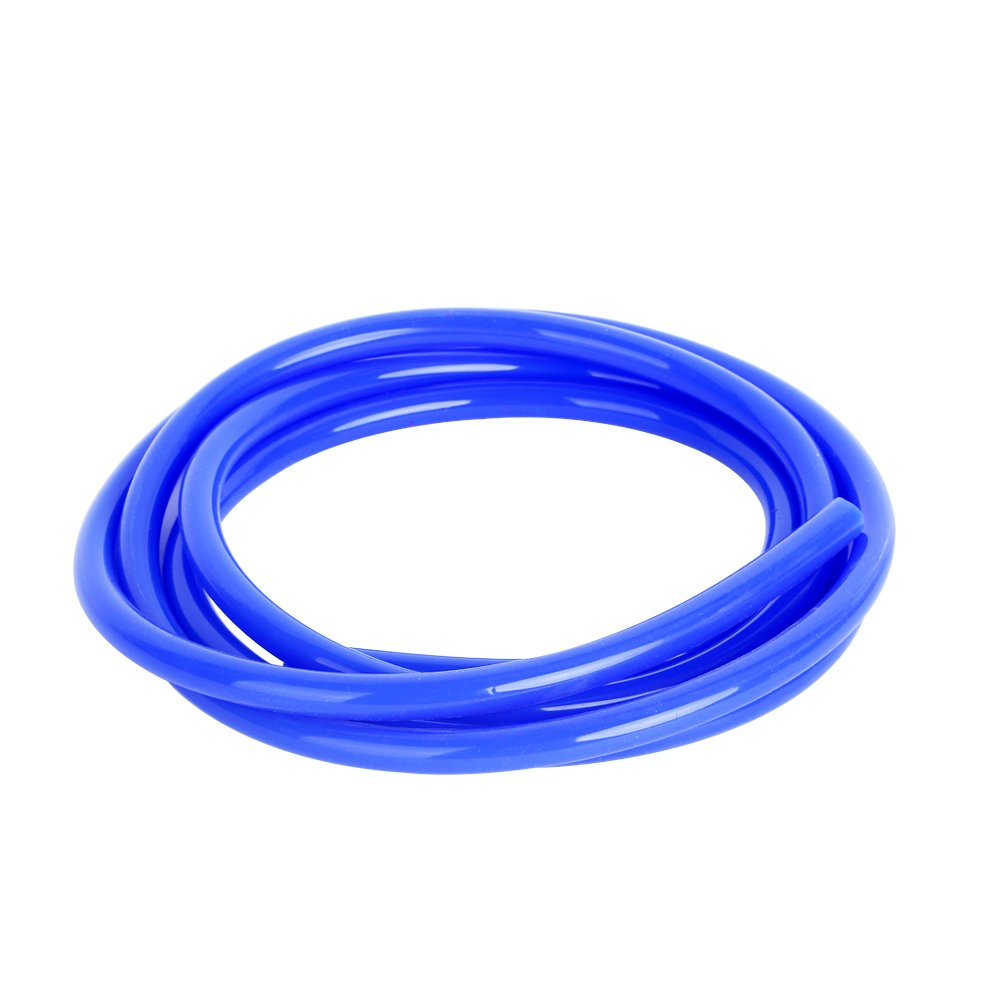 HUICONIC Blue Color 5FT Length High Temperature Silicone Vacuum Tubing Hose ID 6MM