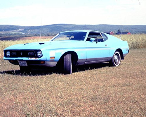 Amazon 1972 Ford Mustang Mach 1 Race Car Photo Poster