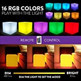 Mr.Go 14-inch 35cm Rechargeable LED Color Cube