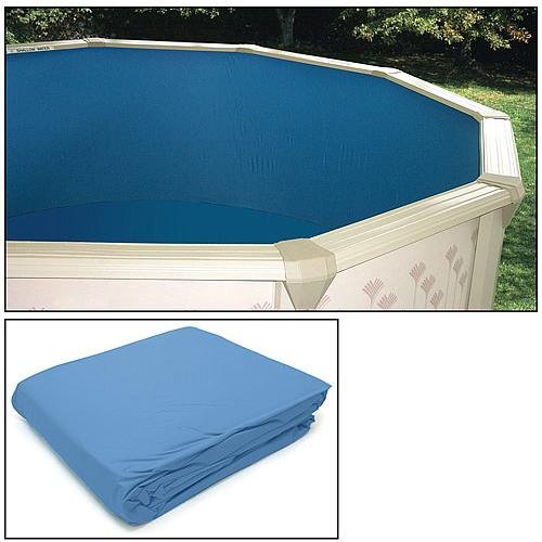 Heritage Pools REPLACEMENT OVAL POOL LINER 18 X 12 for sale  Delivered anywhere in USA