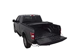 Lund 95072 Genesis Tri Fold Truck Bed Tonneau Cover For 2004 2014 Ford F 150 2010 2014 Raptor 2006 2014 Lincoln Mark Lt Wo Chrome Tie Downs