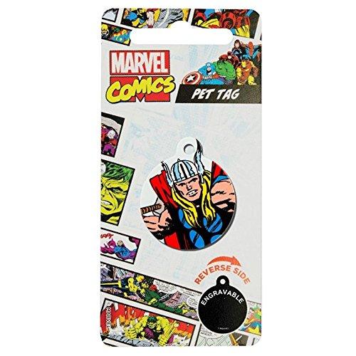 Emblems-Gifts Perros Marca con Diseño de Marvel Comic Thor, para Perros y Gatos, 32 mm, Licencia de Producto: Amazon.es: Productos para mascotas