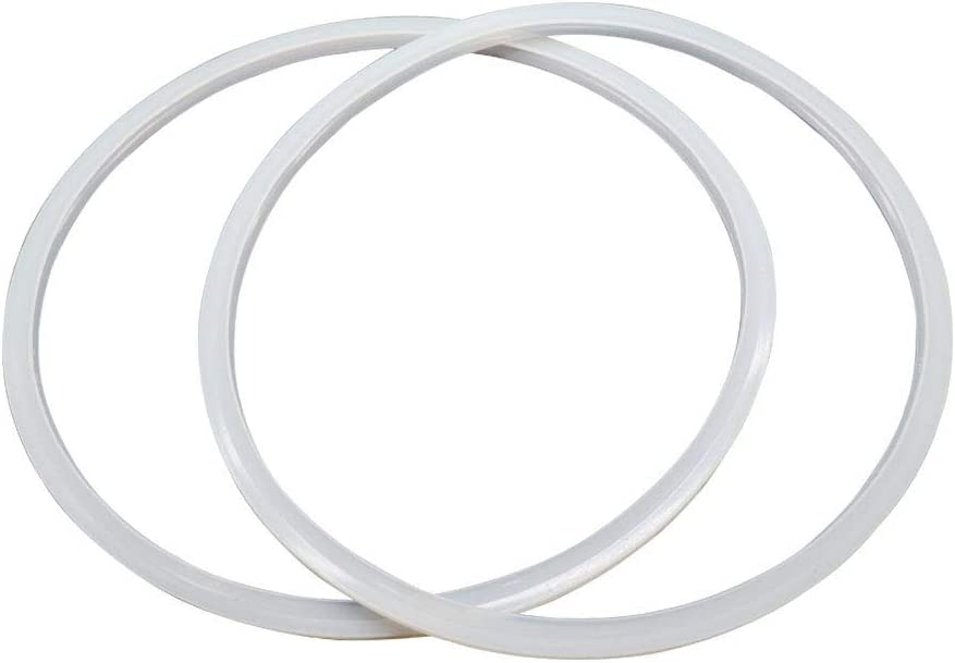LDEXIN 2Pcs Rubber Pressure Cooker Replacement Gasket Sealing Ring Fit for 24cm 9.45inch Pressure Cooker