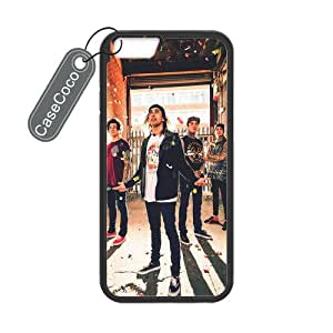 CASECOCO(TM) iPhone 6 Case, Pierce The Veil Case for iPhone 6 (4.7-inch) - Protective Hard Back / Black Rubber Sides