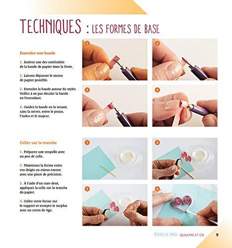 Rêveries De Papier Quilling Et Cie Amazonde Sabine Hanot