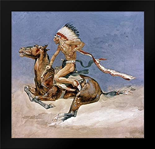 Pony War Dance Framed Art Print by Remington, Frederic