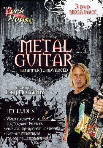 Rock House Metal Guitar - Metal Guitar 3 Dvd Mega Pack