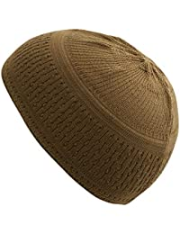 a88f0f1b Stretchy Elastic Beanie Kufi Skull Cap Hats Featuring Cool Designs and  Stripes