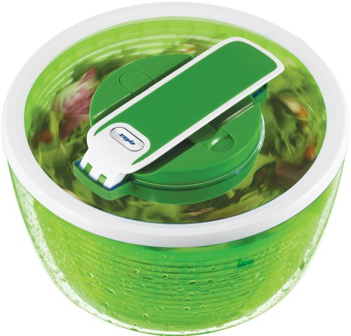 ZYLISS Smart Touch Salad Spinner, Green by Zyliss