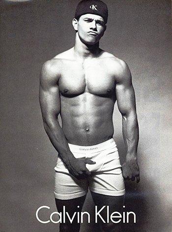 Photo Calvin Kline Movie Star Mark Wahlberg Underwear (Underwear Photo)