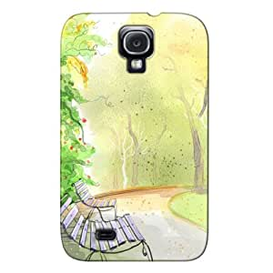 2D Digital Art 8 Yellow Cover Case For Sumsang Galaxy S4
