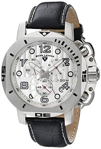 Swiss Legend Men's 10538-02S Scubador Chronograph Black L...
