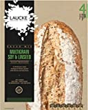 Laucke Soy & Linseed Bread Machine Mix, 4 x 600g - Makes 4 x 2lb Loaves
