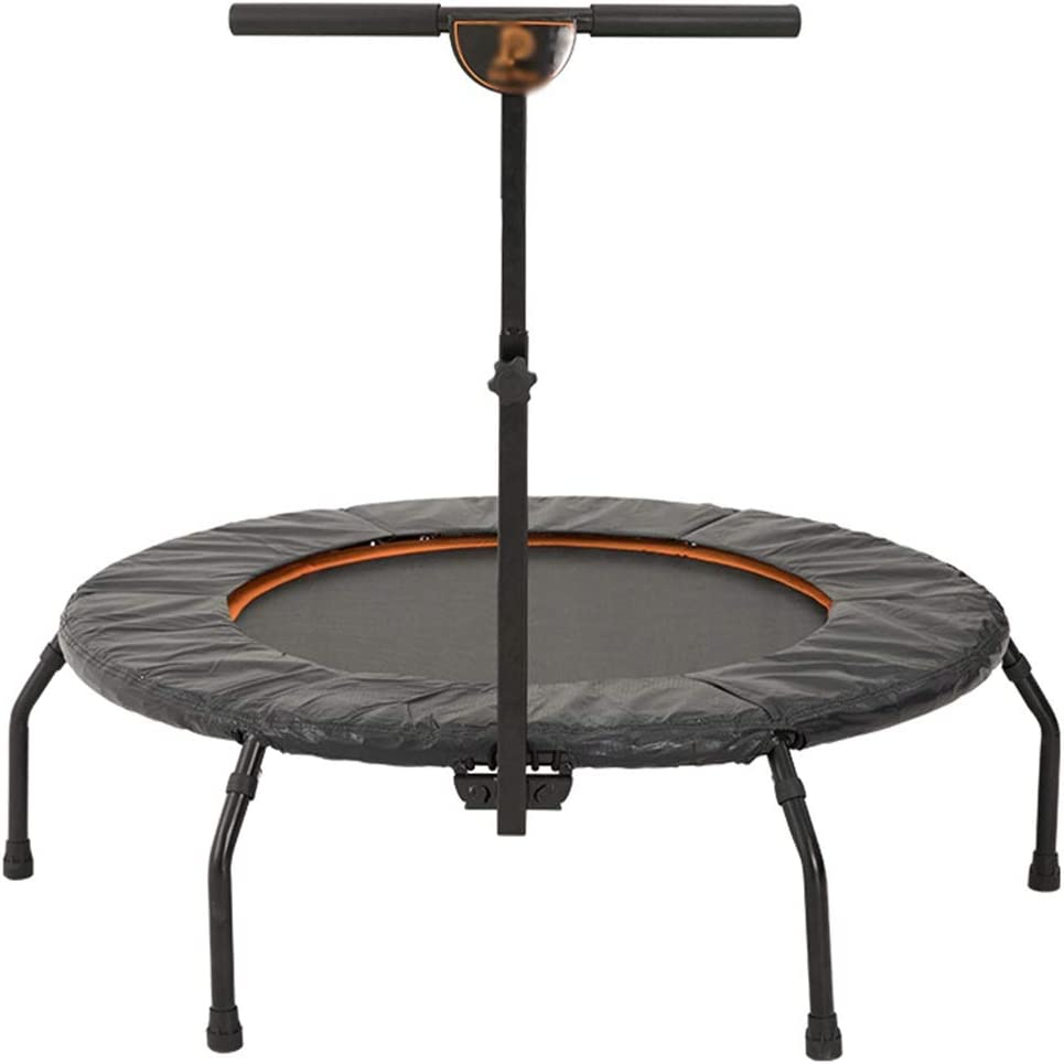 大人用トランポリン - 家庭用スポーツ用品 - 調節可能な肘掛け付 - 室内フィットネス - アーチ型足 - 130kgに耐えることができます
