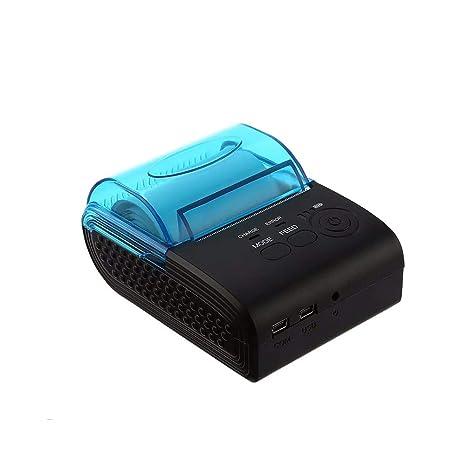 OXHARY Impresora térmica de Recibos Bluetooth de 58 mm Y ...