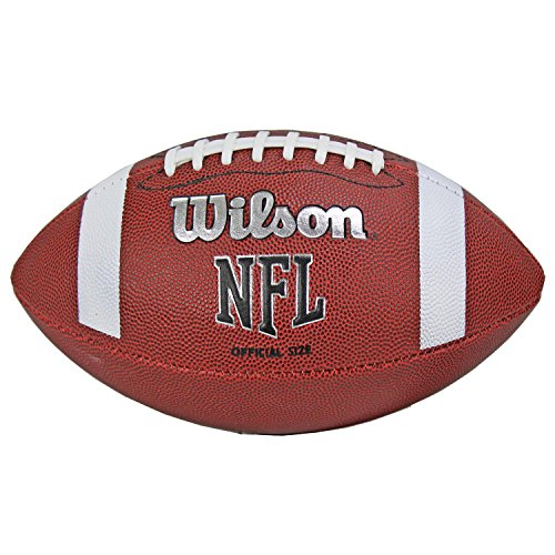 Wilson TDS NFL Official Size 9 Rubber Cover American Sports Football | WTF1858