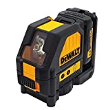 DEWALT DW088LR 12V Cross Line Laser, Red
