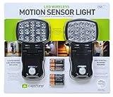 Capstone 16-Super Bright LED's Motion Sensor Lights 2-Pack Batteries Included, Best Gadgets