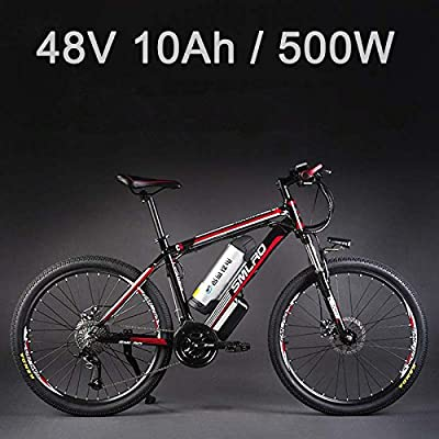 La bicicleta eléctrica de la aleación de aluminio de la batería de litio de 26