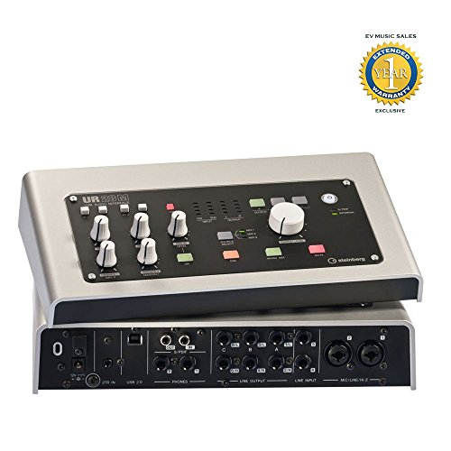 Steinberg UR28M 6-in/8-out USB 2.0 audio interface with 2x D
