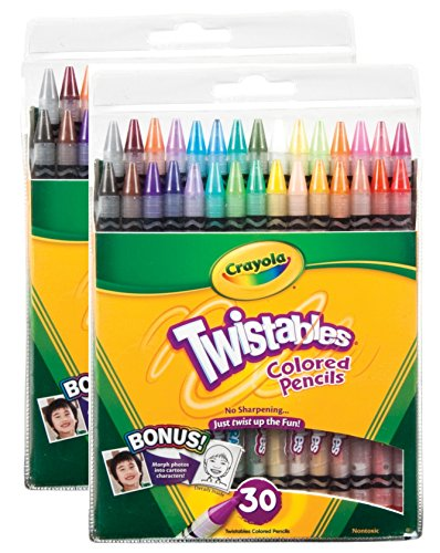 twistables Colored Pencils Assorted Colors