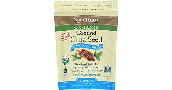 Spectrum Essentials semillas de Chia, 10 onzas: Amazon.com ...