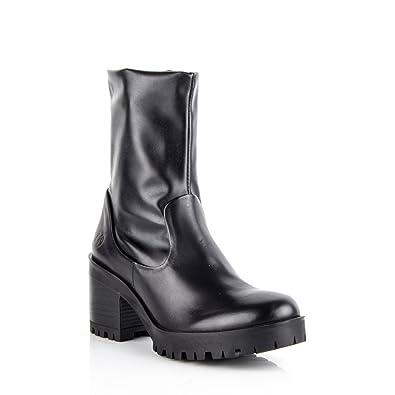 e1f962c1aa9de5 Felmini Chaussures Femme - Tomber en Amour avec Cosmo 8919 - Bottes  Classiques - Stretch Véritable