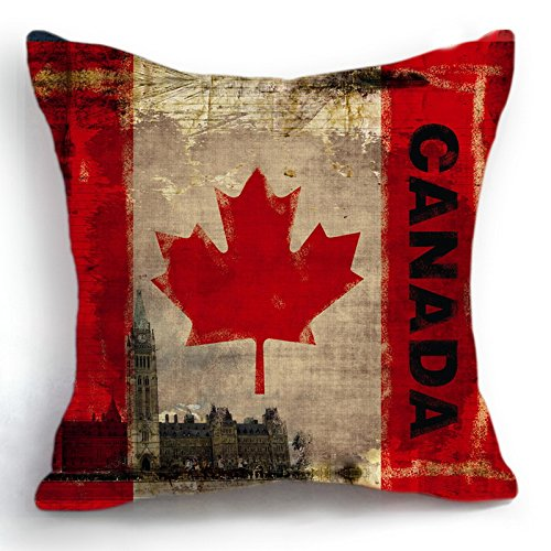 Canadian Inspired Home Decor Canada Pillow Via Etsy: Canada Flag Throw Blankets And Pillows