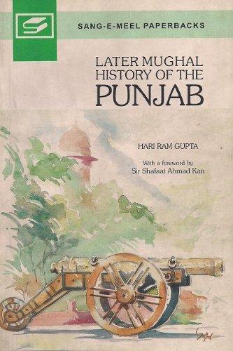 Download Later Mughal History of the Punjab pdf epub