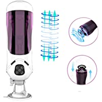 WeDol Rotating Male Masturbator Cup with 10 Spinning Telescopic Modes and 10 Speeds to Stimulate Penis Glans, Automatic Penis Head Training Tool Masturbation Sex Toys for Prolonged Stronger Erection