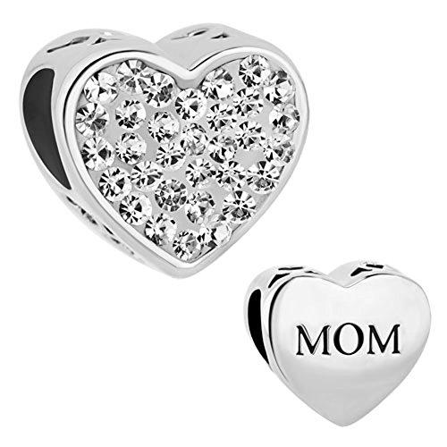 CharmsStory Sterling Birthstone Crystal Bracelet