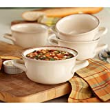 Daily Chef 4 Pack Fireside Soup Bowl - Cream