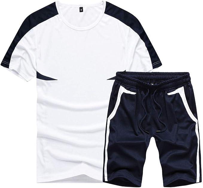 Herren Trainingsanzug Jogging Anzug Sportanzug Sommer